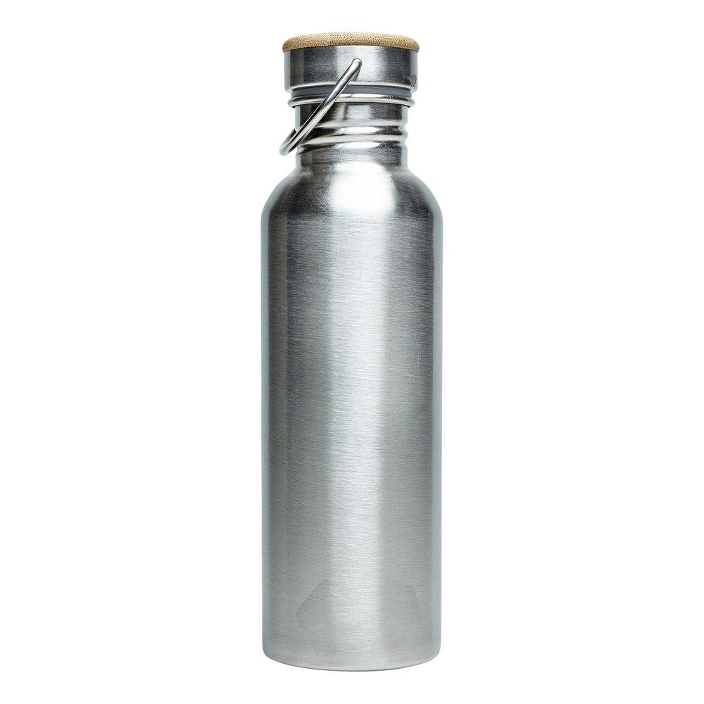 Trinkflasche RETULP silber