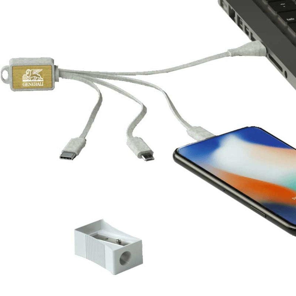 Ladekabel 4 in 1 USB