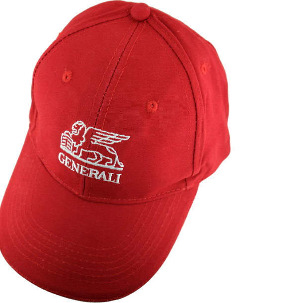 Baseballkappe rot Generali