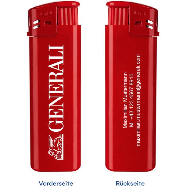 Elektronik-Feuerzeug GO mit Personalisierung