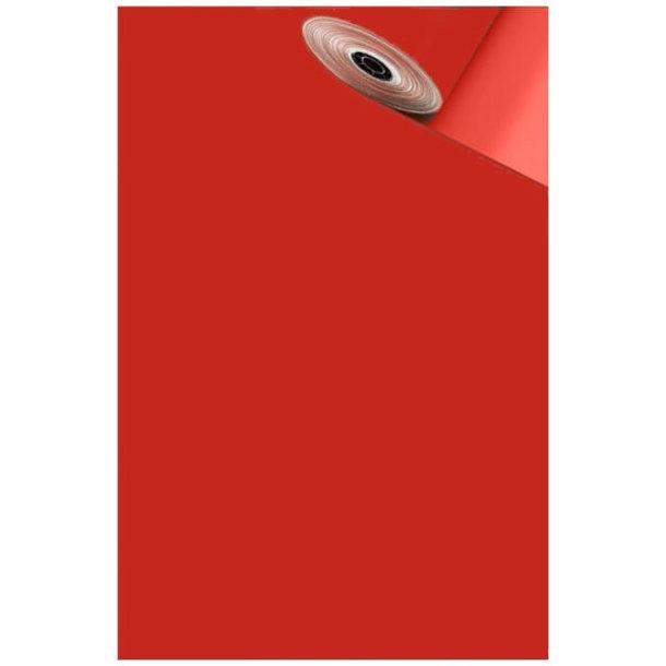 Geschenkpapier rot - Rolle mit 10 Bögen