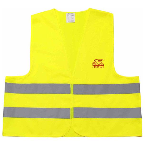 Warnweste Erwachsene gelb