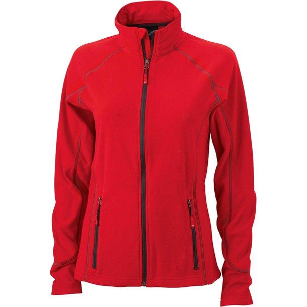 Damen Fleece Jacke Zipp Vitality