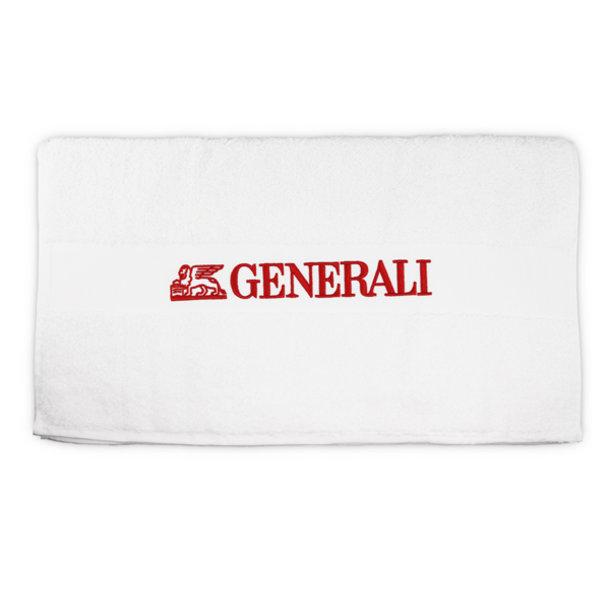 Gymnastik Handtuch weiß Generali
